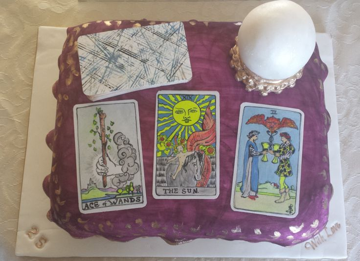 Tarot Card Cake Made By The Cake Ace Pinterest