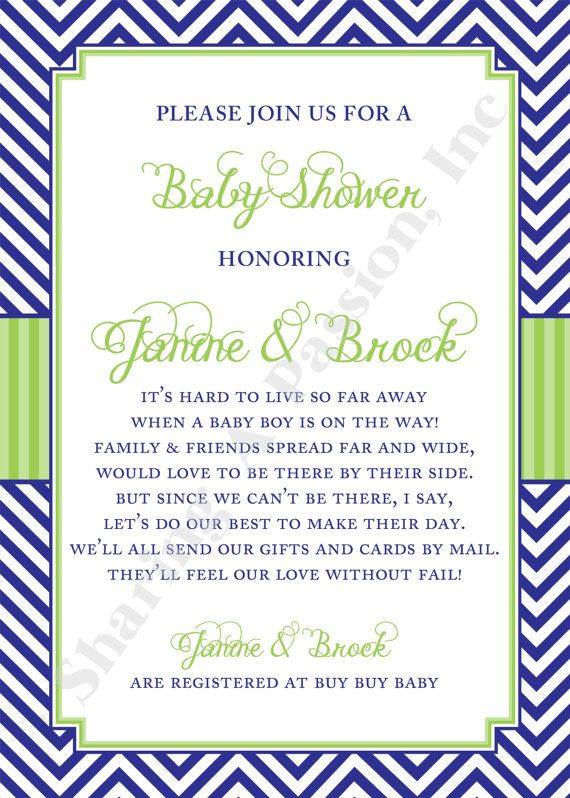 long distance baby shower invitation wording, Baby shower invitations