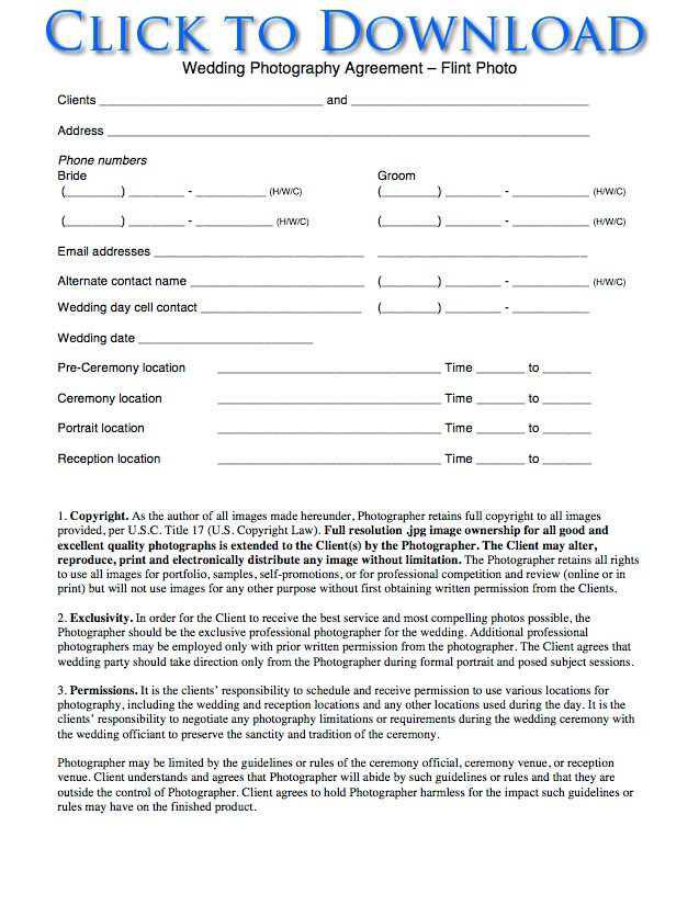 Event Agreement Template wedding planning contract templates – Wedding Planning Contract Templates