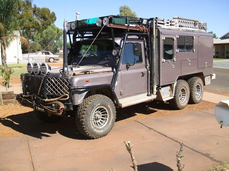 17 Best images about Land Rover Defender 6x6 on Pinterest