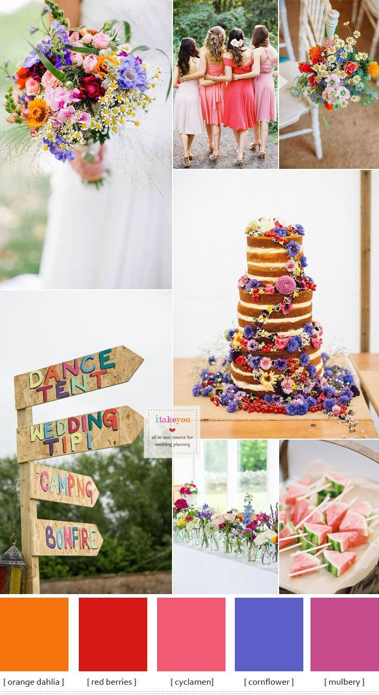 Wedding Theme Colors For Summer 2017 | Mysummerjpg.com