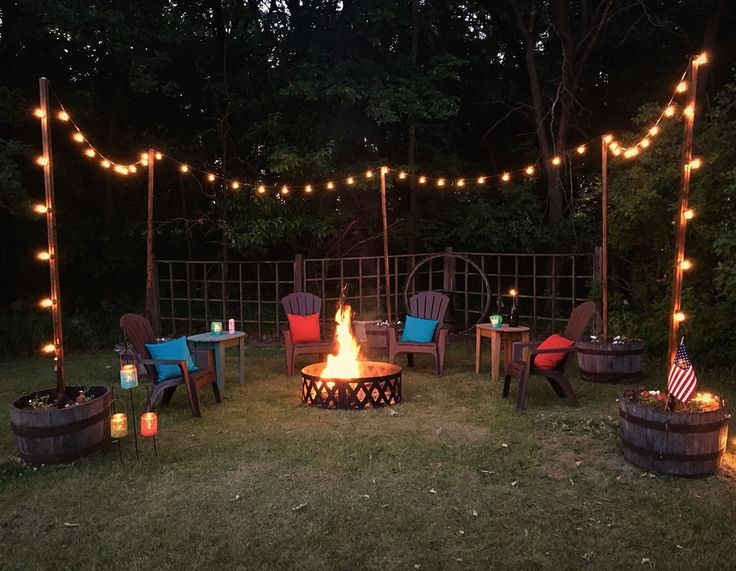 25 Best Fire Pit Seating Ideas On Pinterest