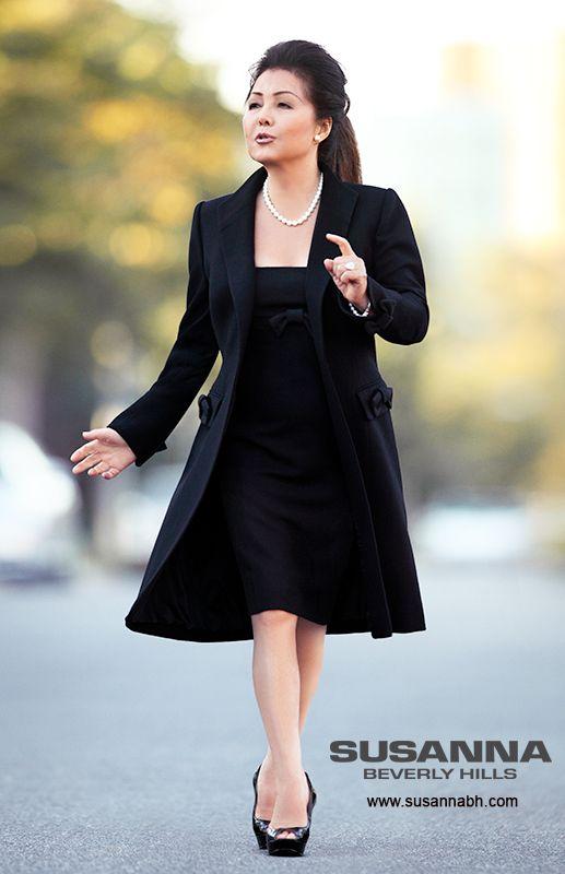 Haute Couture Business Attire For Women This Black Winter