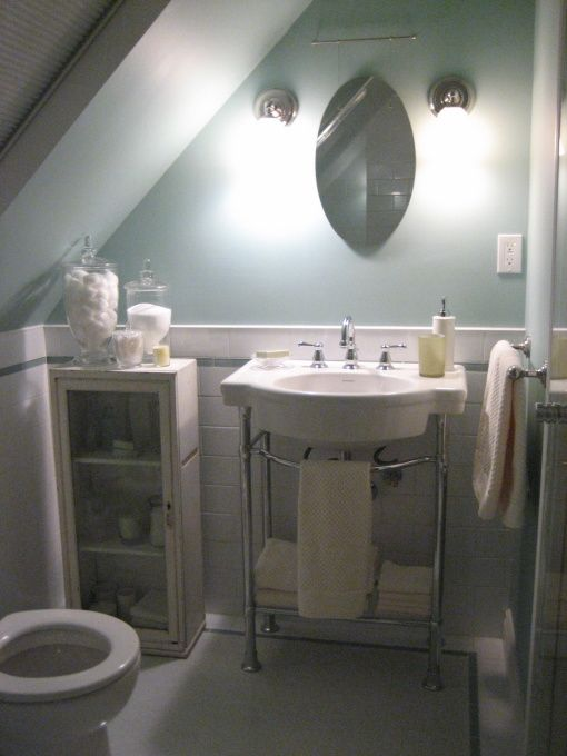 63 best images about Attic Bathroom Sloped Ceiling on ...