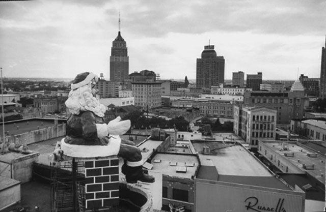 Joskes San Antonio Texas Pic Christmas 1960 S