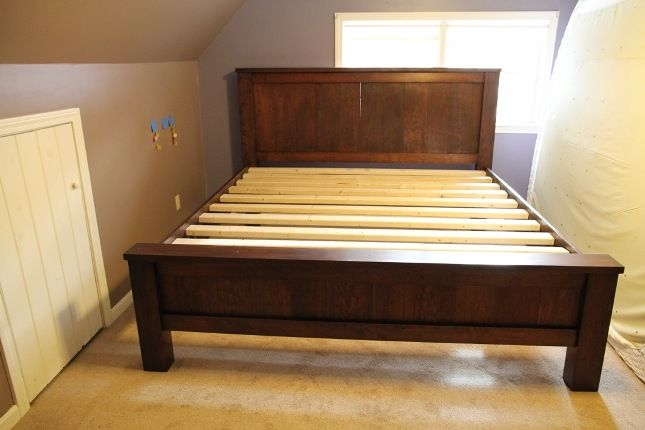 How To Build Queen Bed Frame Plans Pdf Woodworking Plans