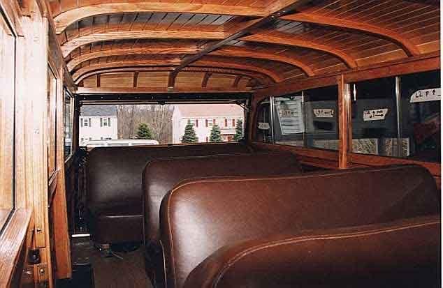 Powerwagon Interior 1950 Dodge Power Wagon Woodie Body