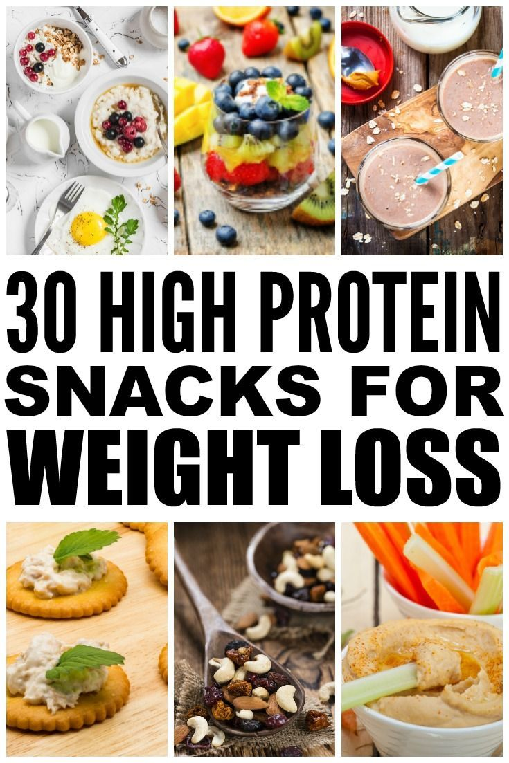 30 High Protein Snacks for Weight Loss 100 calorie