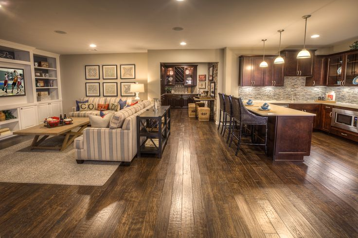 The Upscale Downstairs: Building A Better Basement