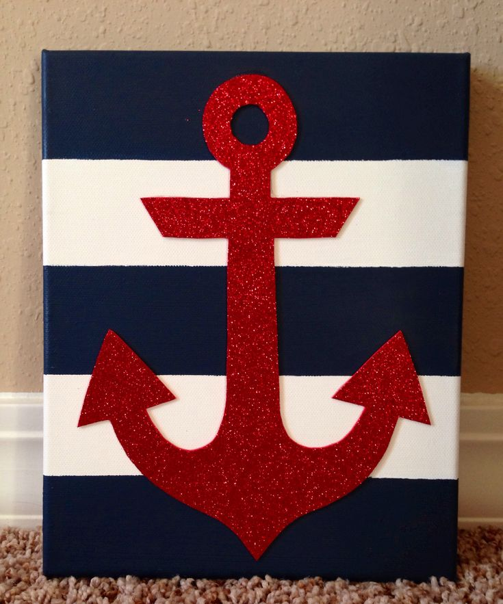 Best 20 Anchor Canvas Paintings Ideas On Pinterest