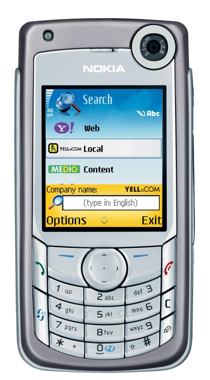 Nokia 6680 My Phones Pinterest Tech and Smartphone