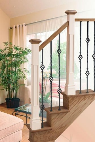 Colonial Elegance Contemporary 35 7 8 Venetian Bronze | Menards Interior Stair Railing