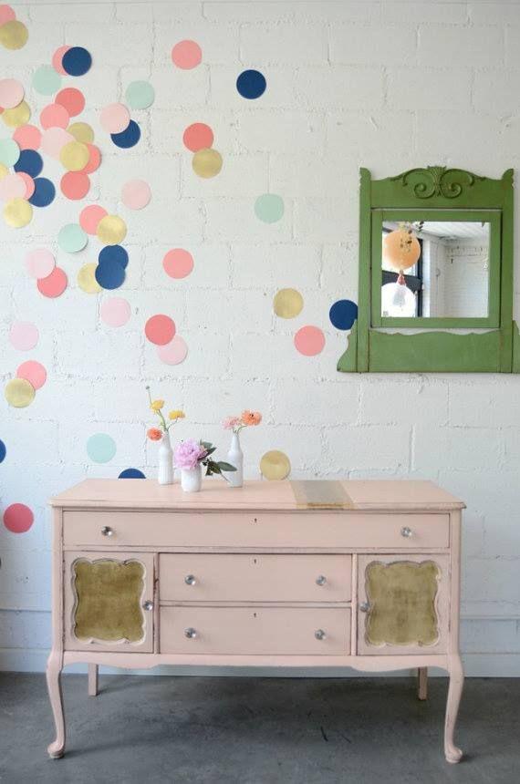 310 Best Polka Dot Rooms Images On Pinterest
