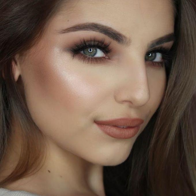 Bridal Makeup For Brunettes With Blue Eyes Jidimakeup