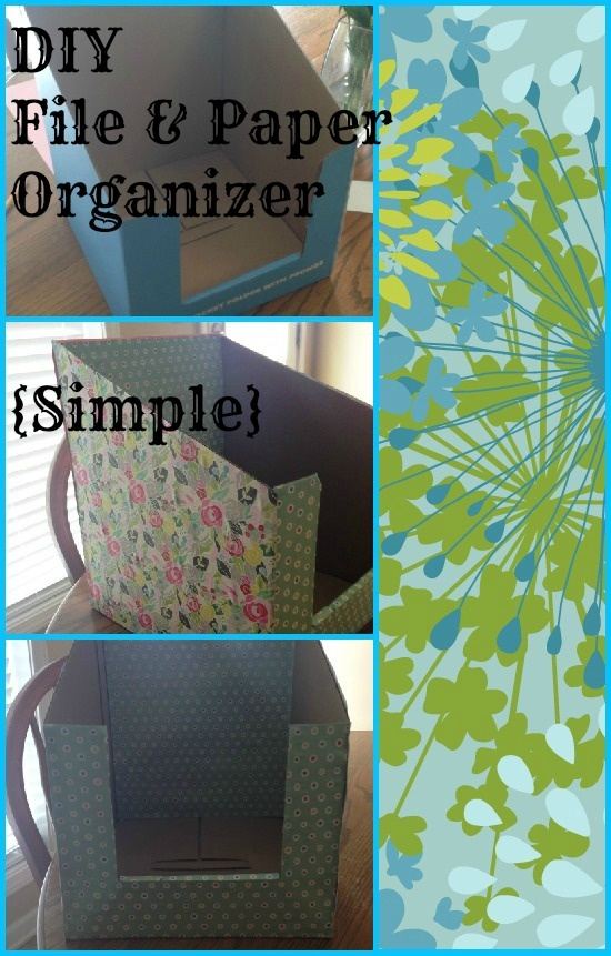 DIY File & Paper Organizer {Simple Giveaway