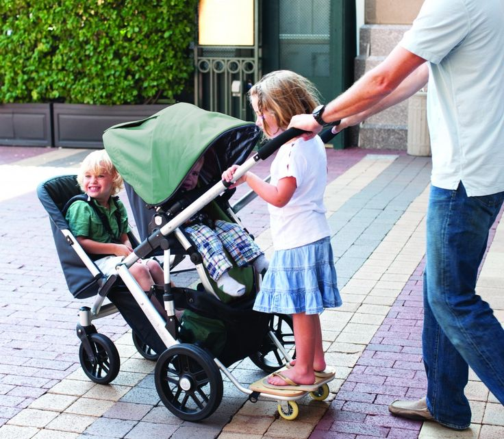Perfect city stroller. UPPAbaby Vista with Toddler Seat