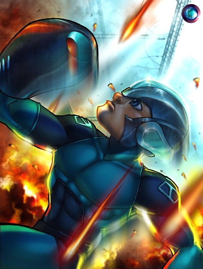 megaman tribute by drconz on deviantART Video game