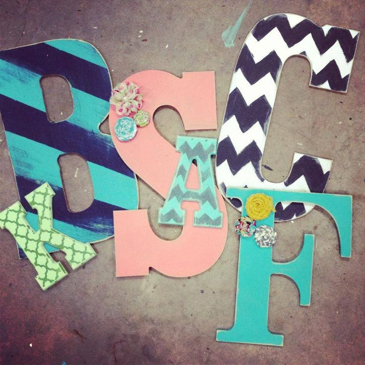 DIY Painted Letters But Maybe More For An Adult Home Christmas Gifts For Others Pinterest