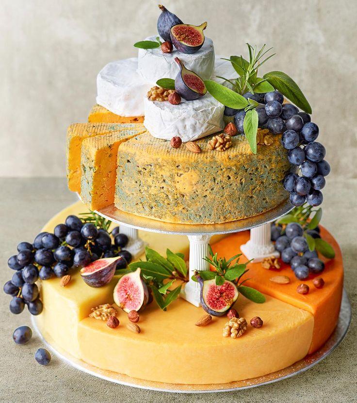 Top 25 Best Cheese Wedding Cakes Ideas On Pinterest
