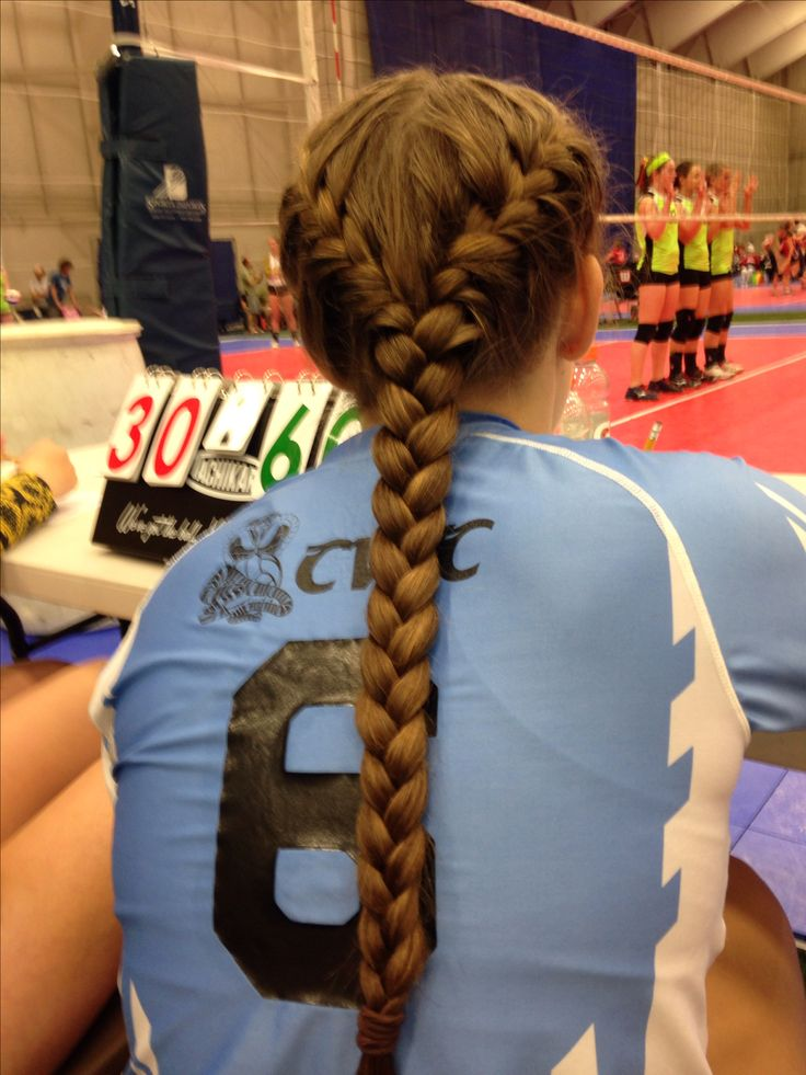 20 Best Ideas About Volleyball Hair On Pinterest