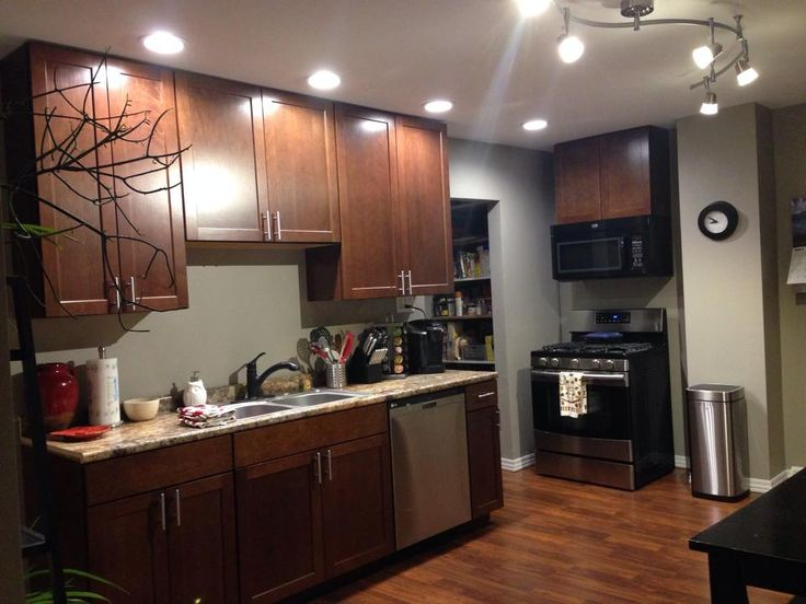 We Used Shenandoah Cherry Spice Cabinets High Def