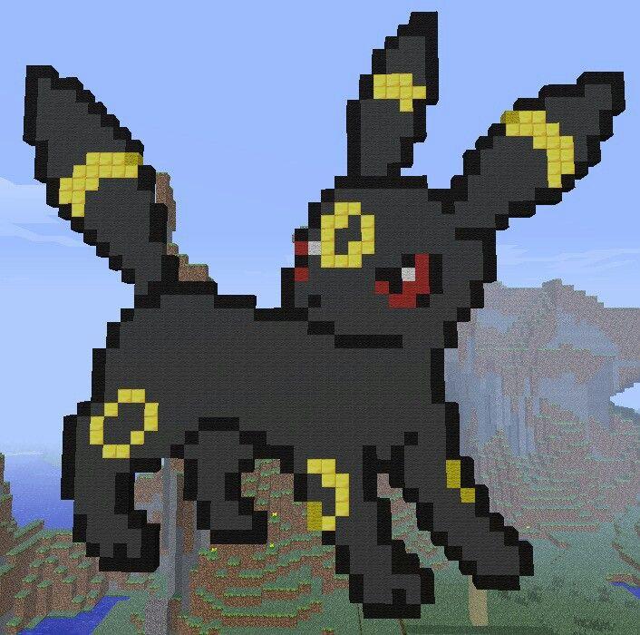Pokemon Minecraft Umbreon Minecraft Pinterest See
