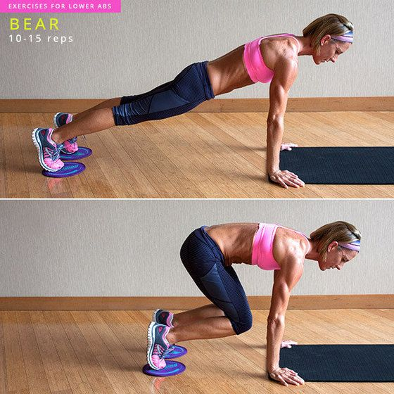 I did this and lost 2 pants sizes in just 2 weeks!! 8 Exercises to Target Your L