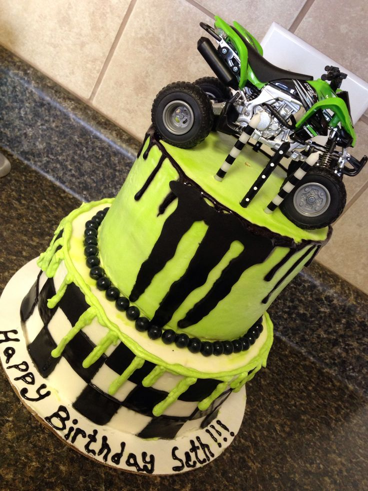 Seth S Awesome Monster Energy Cake My Creations