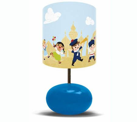 "Light Up Babys Nursery With ""Its a Small World"" Lighting Collection 