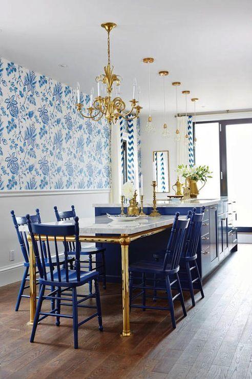 Accent Velvet Chair Blue Light
