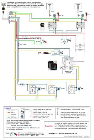 220V 30A Wiring Diagram Help  Page 2  Home Brew Forums
