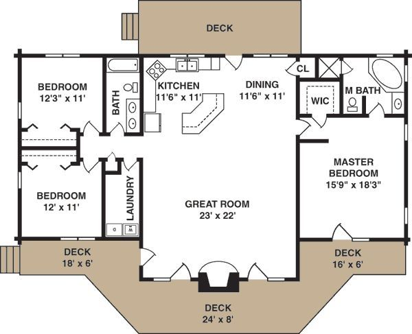 17 Best Ideas About Small House Layout On Pinterest