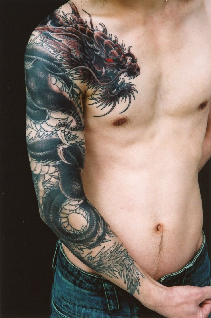 Dragon Tattoos for Men Dragon Tattoo Designs for Guys