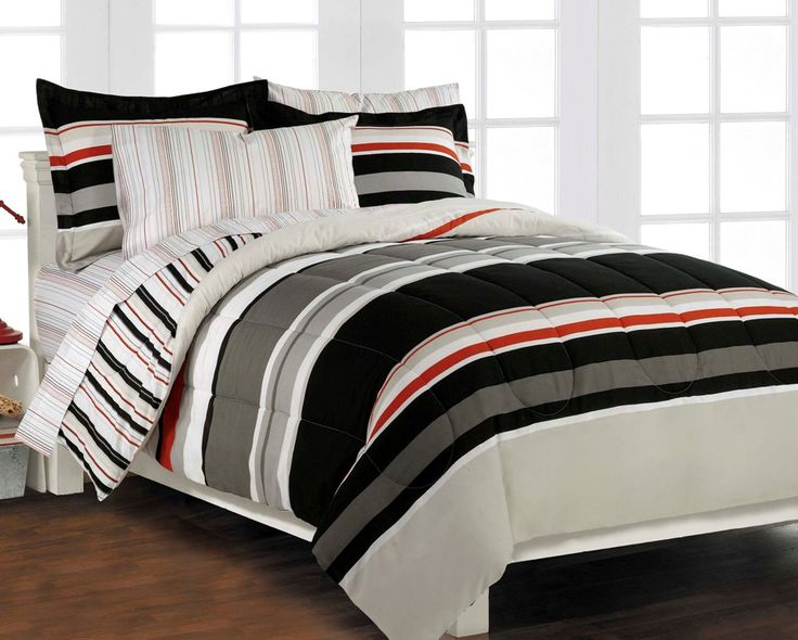 Black And Red Bedding For Boys