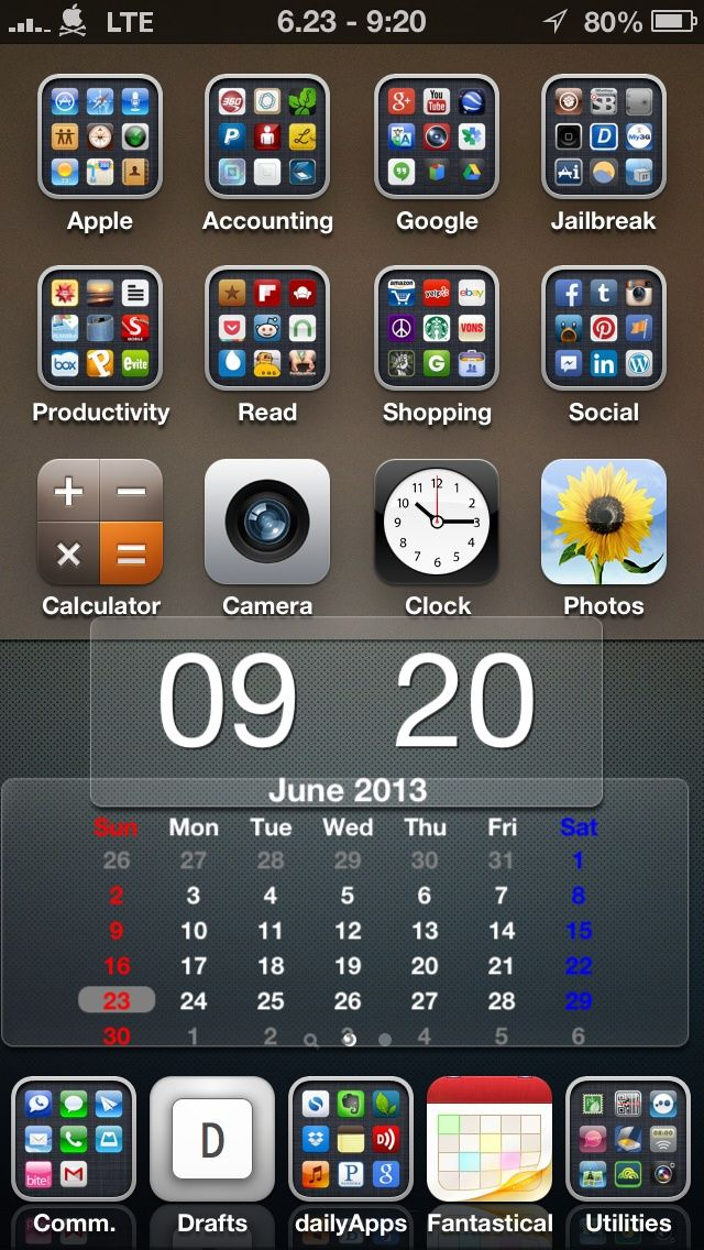 Tip iPhone Home Screen Organization. Home, Tips and Screens