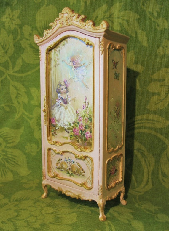 Jill Dianne Hand Painted Finding Fairies Wardrobe