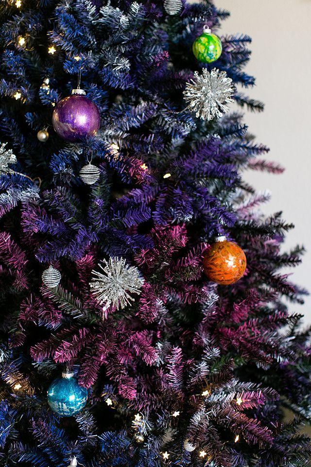 DIY Doctor Who Galaxy Christmas Tree Trees Christmas