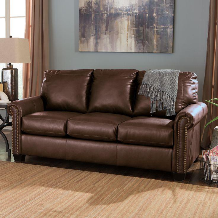 1000 Ideas About Ashley Leather Sofa On Pinterest Italian Leather Sofa Leather Sectional