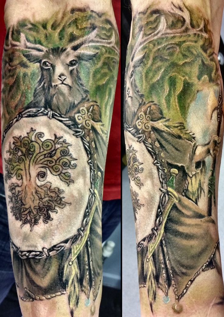 Best 20 Druid Tattoo Ideas On Pinterest