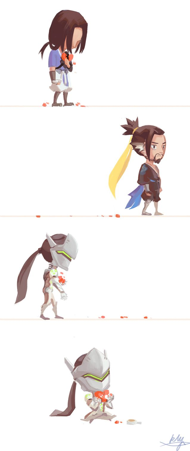 17 Best Ideas About Genji And Hanzo On Pinterest Overwatch Genji Overwatch Dragons And