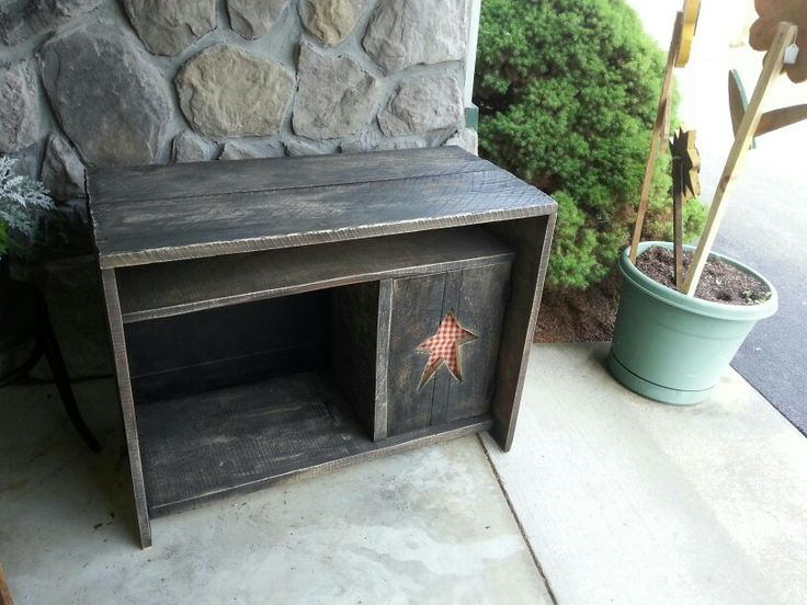 Primitive Tv Stand Primitives Pinterest Tv Stands