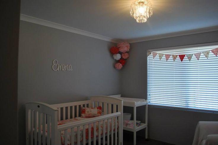 Emmas Room Walls Painted Im Silkwort Dulux Boori White