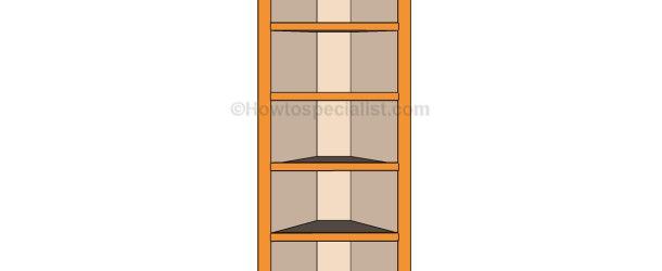 How To Build Corner Shelves