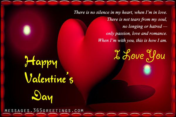 Valentines Day Messages For Boyfriend And Husband