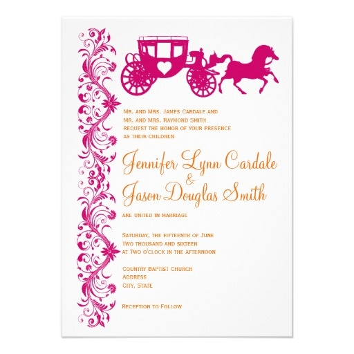 Expensive Wedding Invitation For You Zazzle Pink