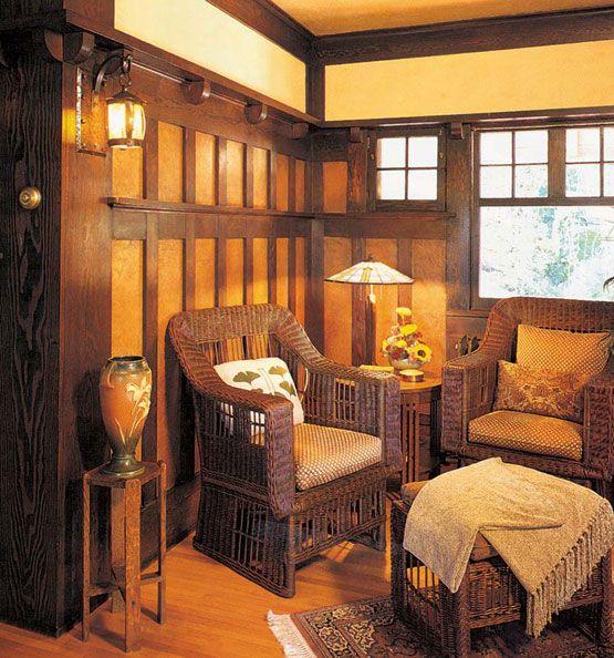 Bungalow Interior Design Kitchen: Original Craftsman Bungalow Interiors