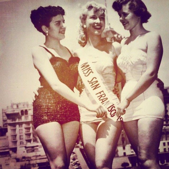 Barbara Eden As Miss San Francisco 1951 And Fellow