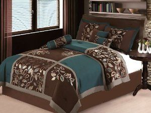 Teal And Brown Bedding Looking Good Here Teal And Brown Bedding Pinterest Brown Bedding