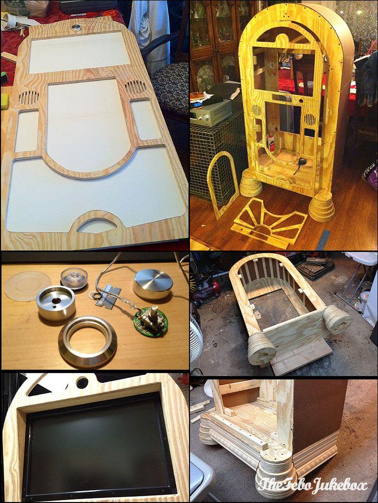 how to build a wood jukebox DIY Pinterest Jukebox