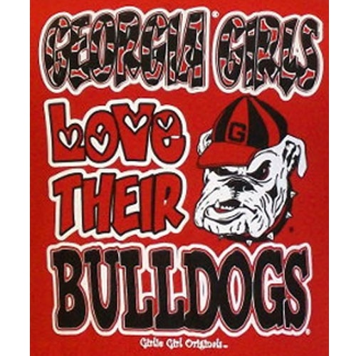Girls Love Their Bulldogs UGA Pinterest